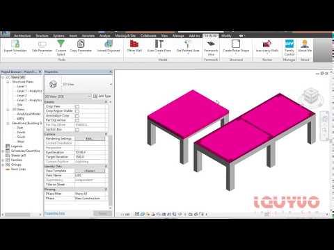 Le Uy Vo Revit Tools - Hướng dẫn sử dụng tool Formwork Area để lấy cốp pha trong Revit